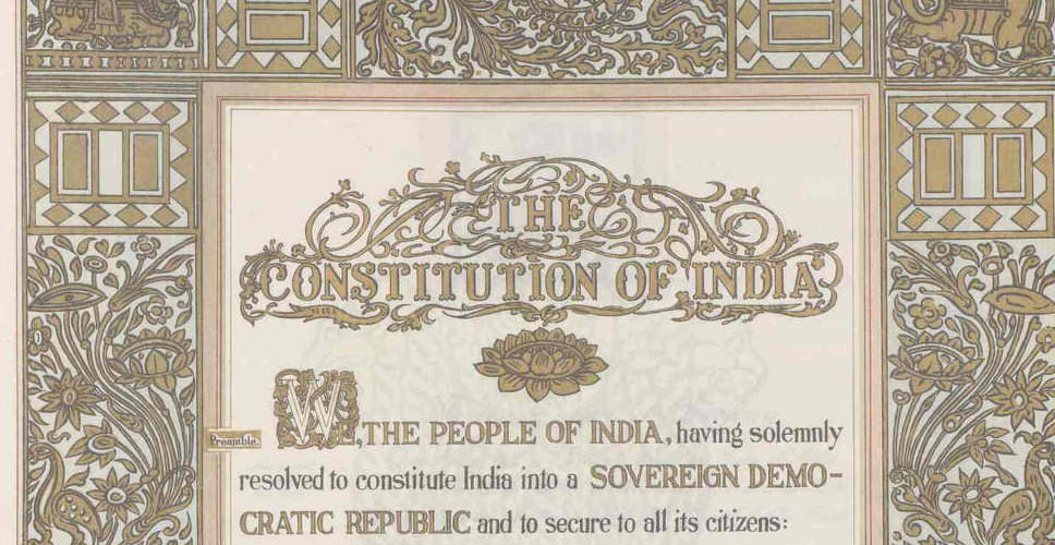 The Constitution of India and Free Speech