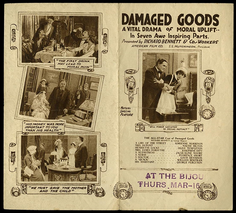 Damaged Goods and Social Hygiene Propaganda