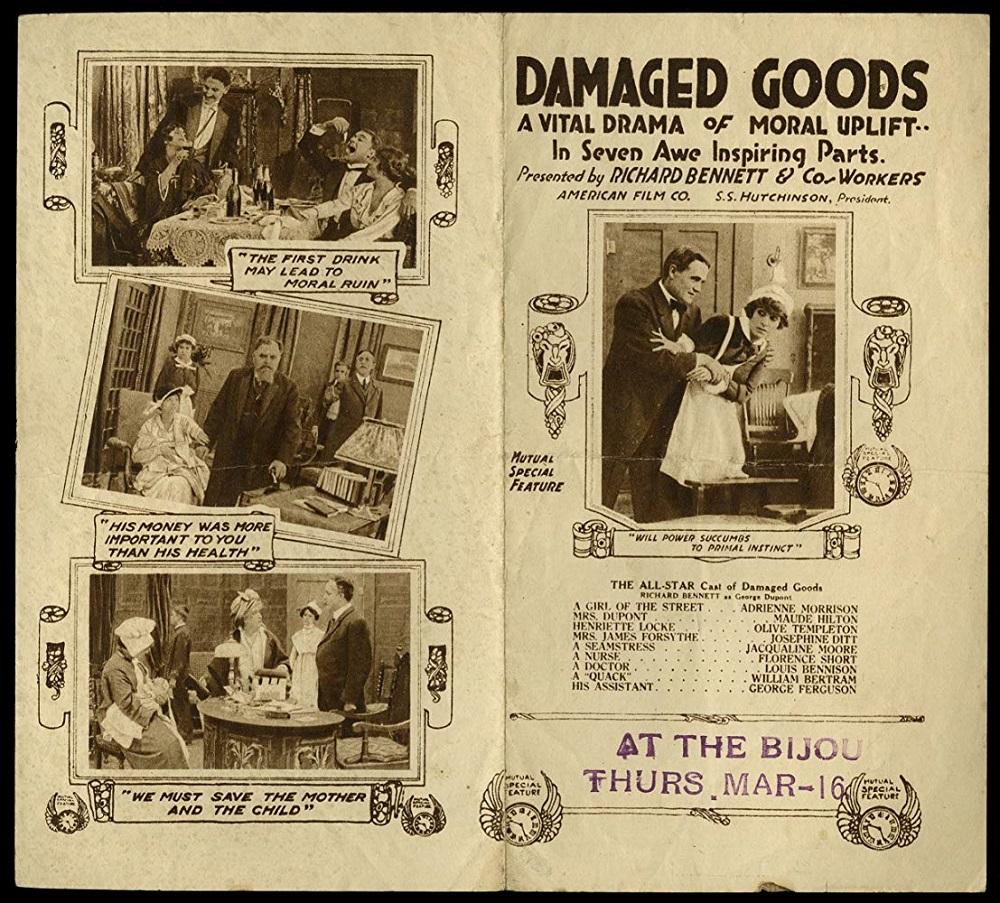 Damaged Goods and Social Hygiene Propaganda